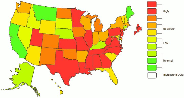 CDC-Flu-Map